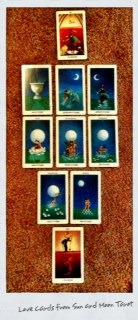 Tarot Love Cards One of the many wonderful... | Tarot Girl Next Door