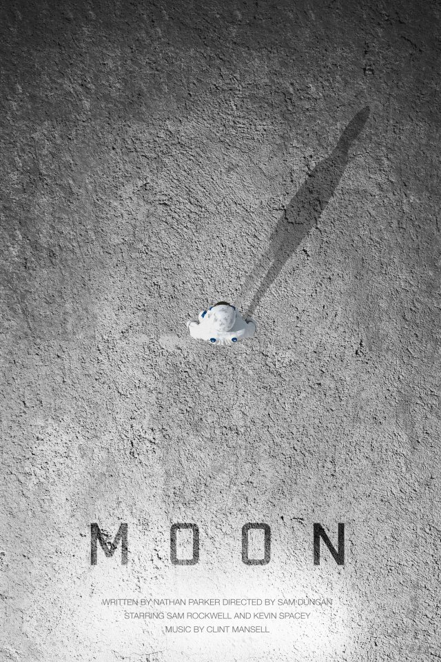 Day 235: Moon (again) #amovieposteraday