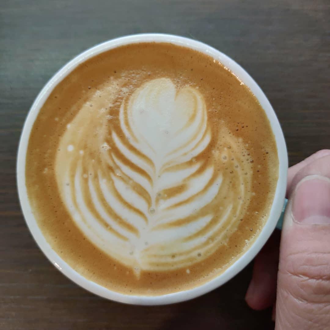 貓咪日和咖啡屋 - ネコ日和コーヒー屋 Blog — . 沒事 喝咖啡就4 . Here is your Tuesday latte