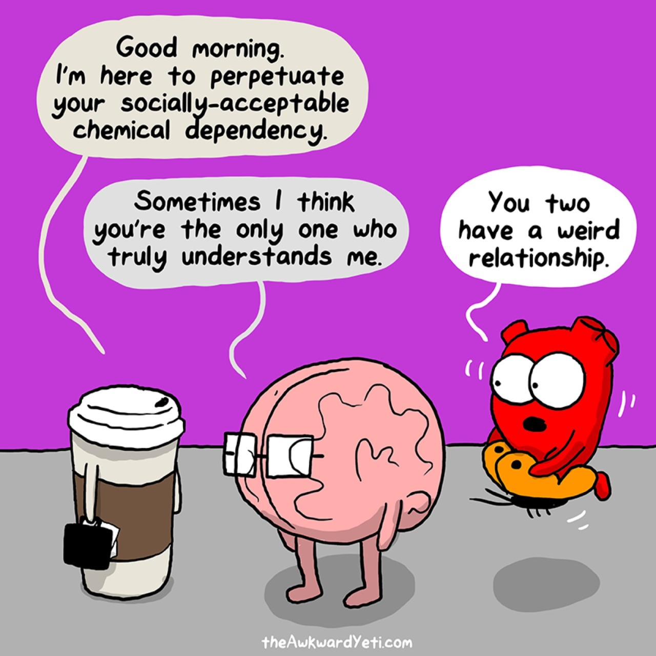 Image result for awkward yeti