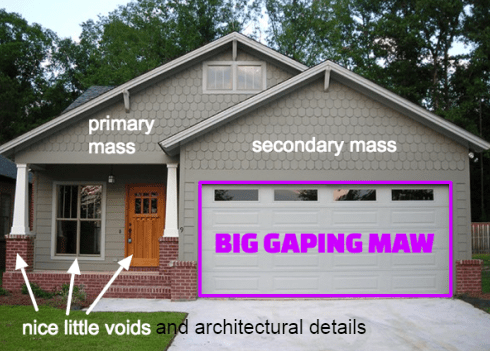 Notes On Attached Garages Mcmansion Hell