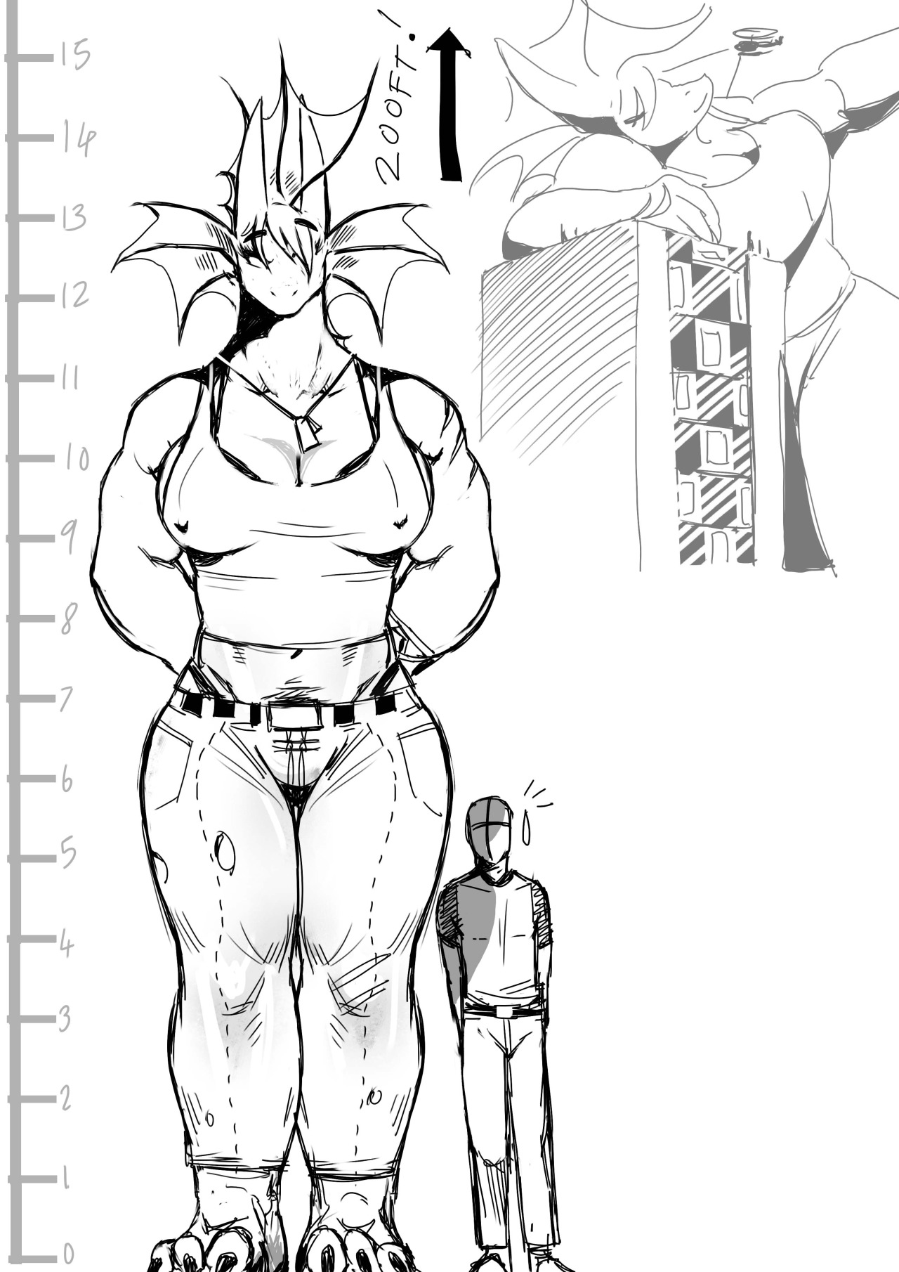 Giantess Growth