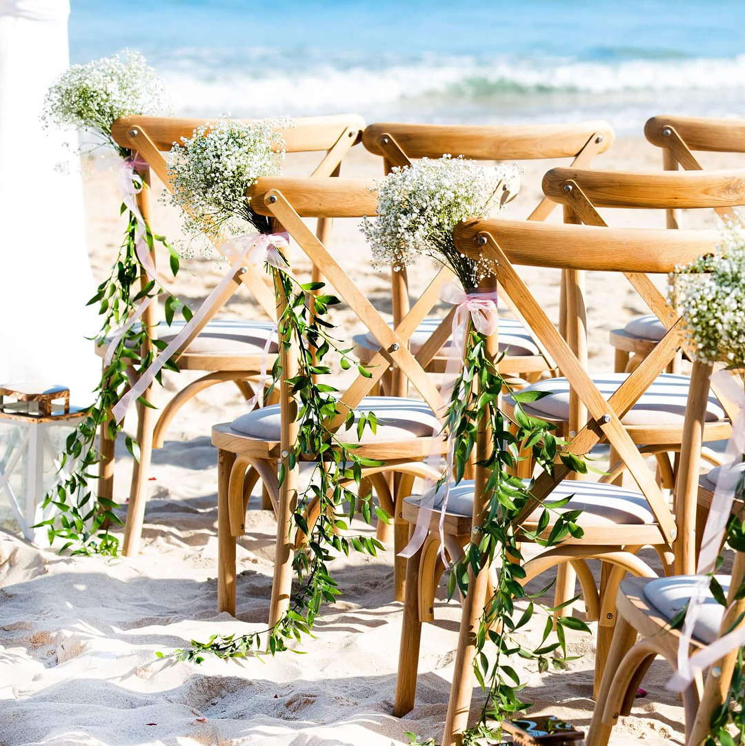 wedding chair hire algarve folding chairs at walmart blush photography how nice do our new look by the sea yesterday s rustic beach