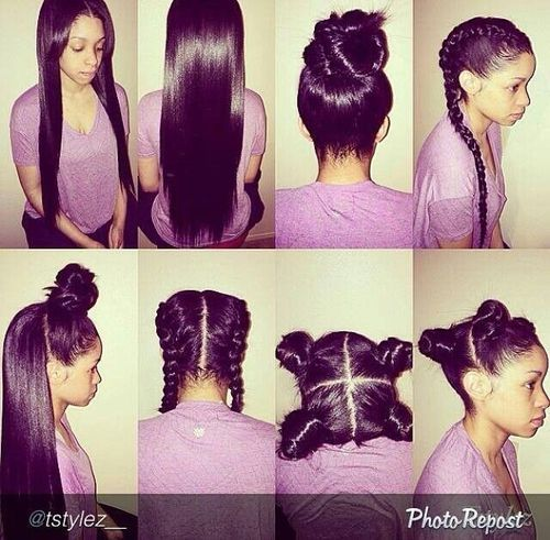 Types of Sew ins