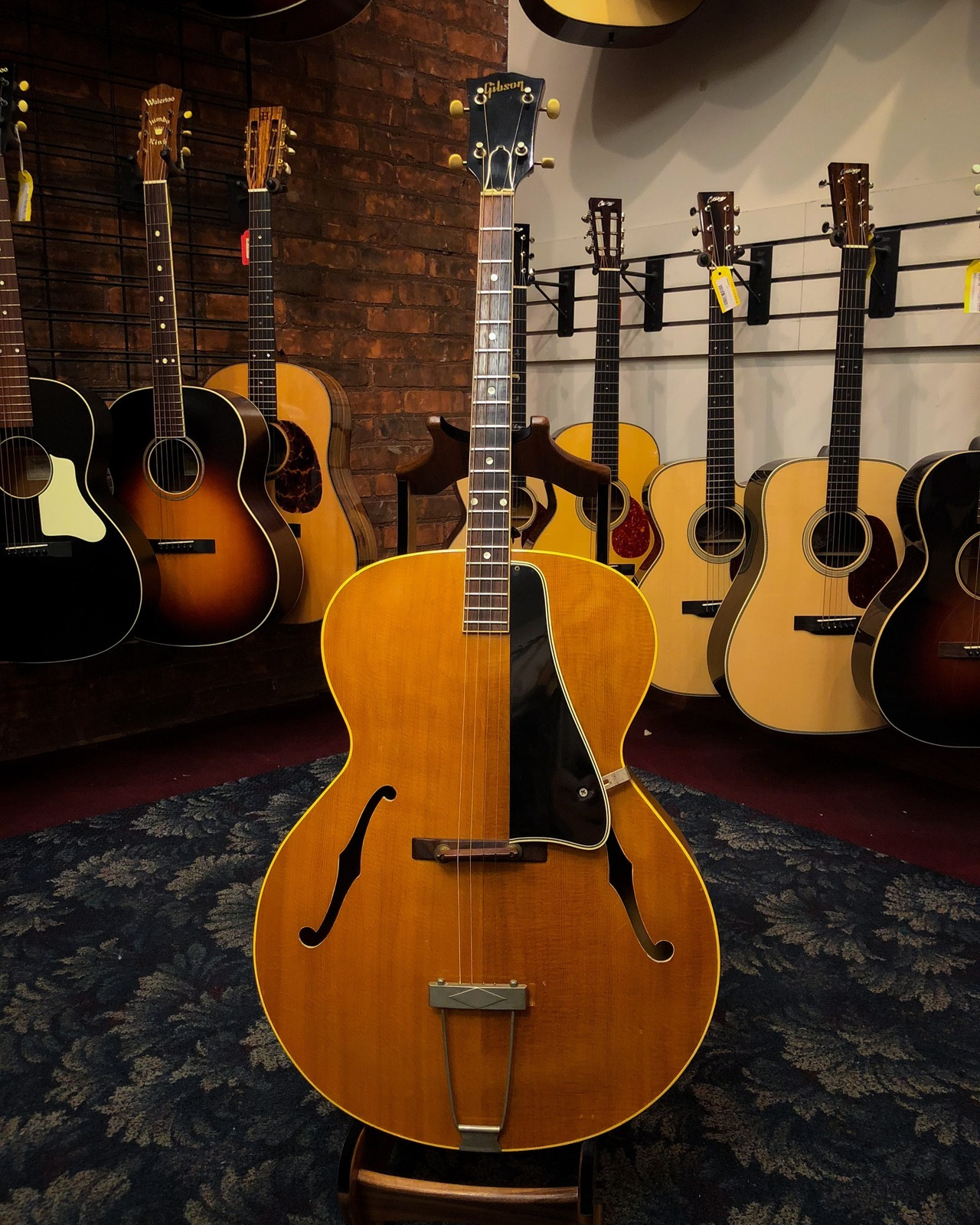 Elderly Instruments — A nice Gibson tenor guitar. this 1963 TG-50...