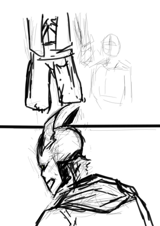 Chrons Art and Rambles • DragonFell comic sketches