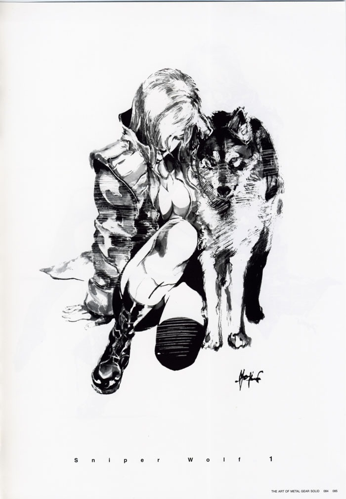 capitán pescanova, Metal Gear Solid by Yoji Shinkawa