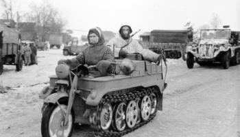 Sdkfz 251/10 with 3 7cm Pak 36  – History