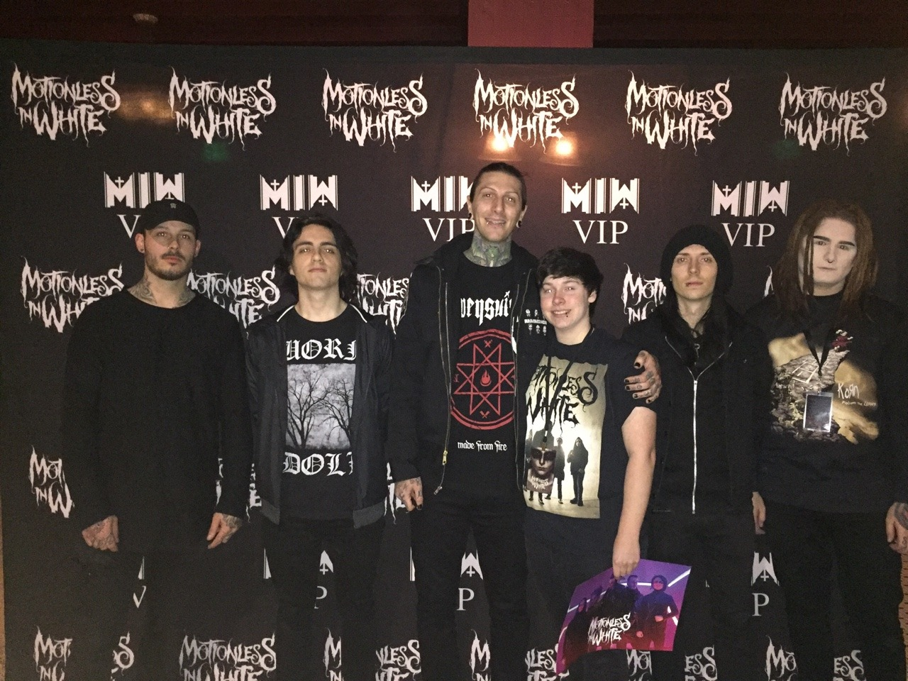How Tall Chris Motionless