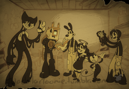 bendy probably gave it to him  Tumblr