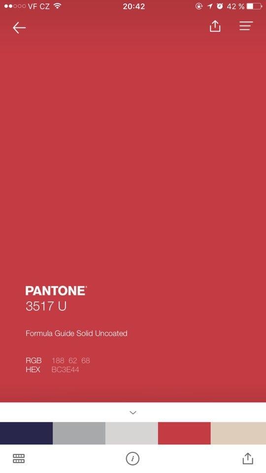 Me as a Pantone Red  Experimentation Blog