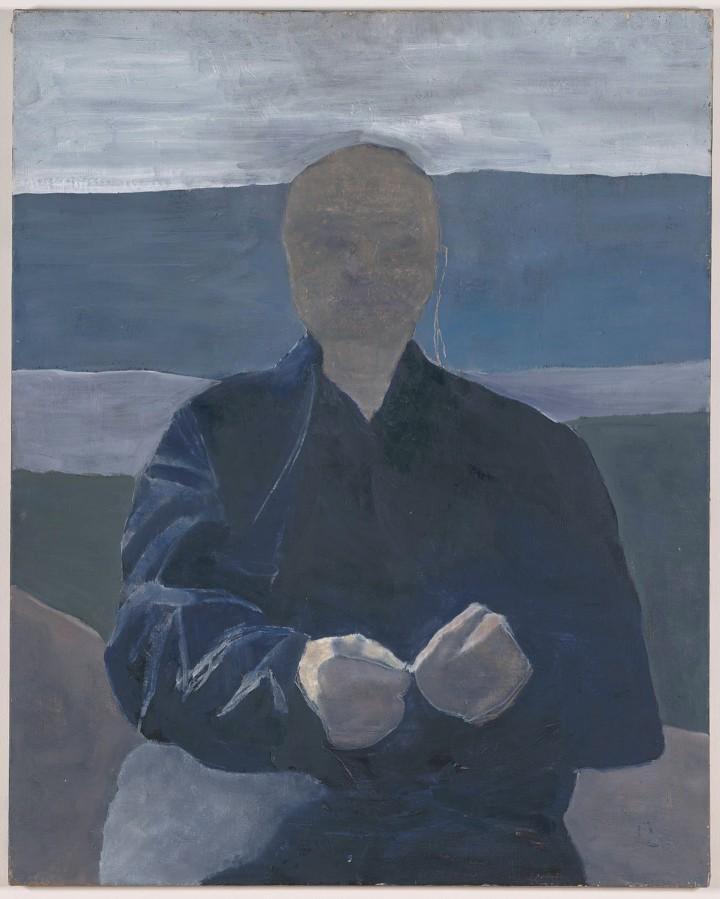 "huariqueje: "" Hands - Luc Tuymans , 1978 Belgian, b. 1958- Oil on canvas, 100 x 80 cm. Jan Wouters Collection """