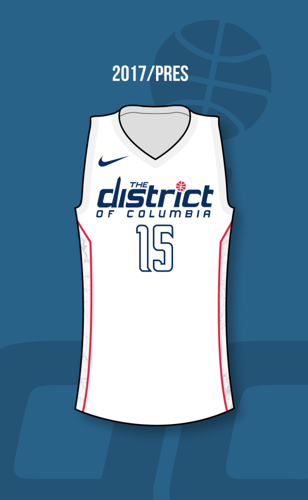 huge discount 7efe2 1dfac District Of Columbia Jersey Wizards - Year of Clean Water