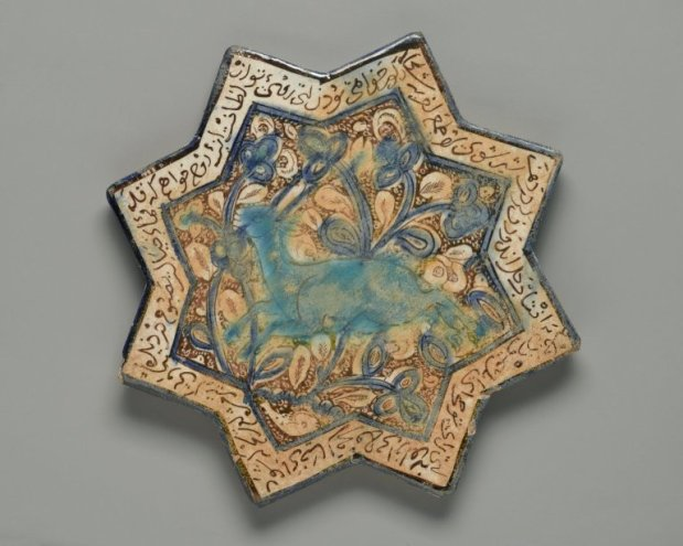 Estrella medieval de ocho puntas