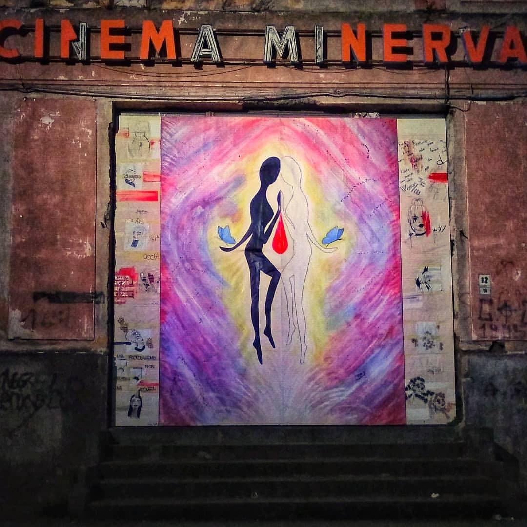 #noviolence #painting #graffiti #wall #art #dirty #artistic #old #bill #creativity #street #illustration #urban #religion...