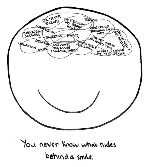 The Doodle Chronicles: Mental Illness — 4x Simple Yet