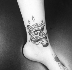 Traditional Twilight Zone Tattoo