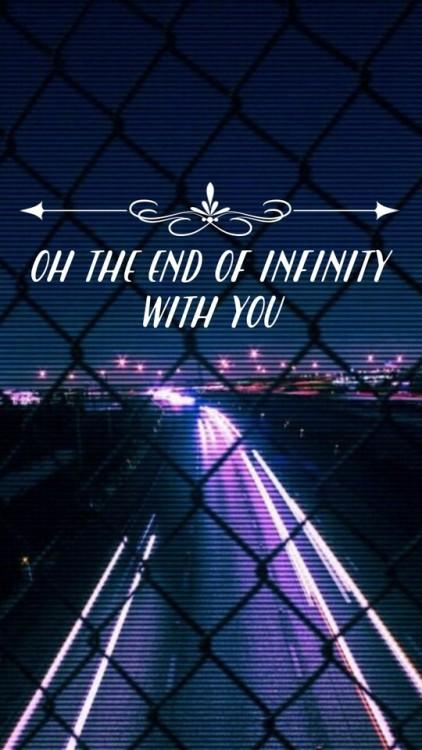 M A N I A Wallpapers Fall Out Boy Purple Aesthetic Lockscreen Tumblr