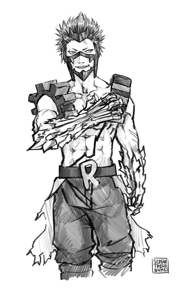 Imagination : thought id try draw older kirishima :3 I