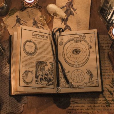 real magic spell book