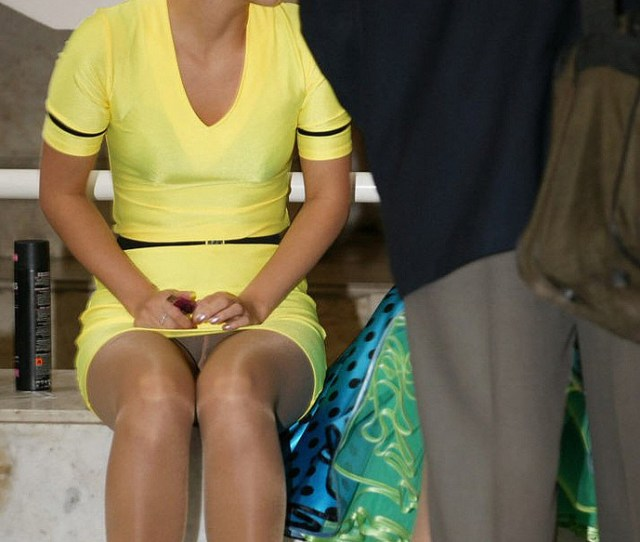 Amateur Tights Candid Pantyhose Upskirt
