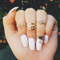 fake nail set | Tumblr