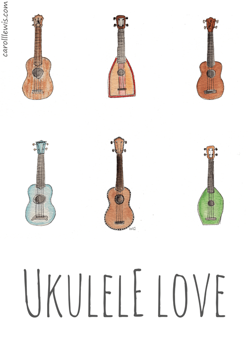 Image result for ukulele tumblr