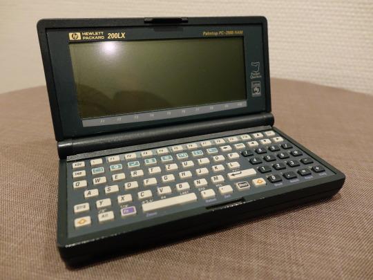 Der HP 200LX. Ein Stück für mein Computermuseum der 90er Jahre