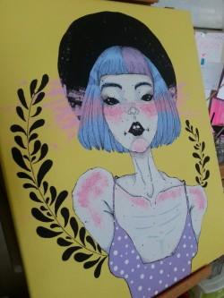 Acrylic Painting Ideas Sad Arte Inspire
