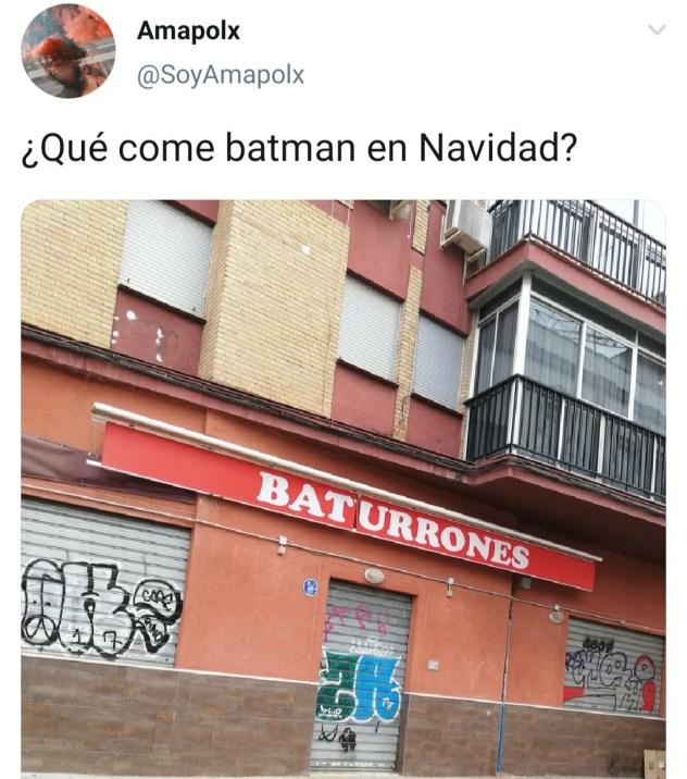 Batman navideño