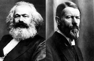 Marx y Weber
