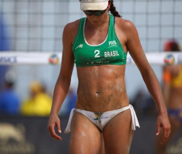 Volleyball Player Carolina Salgado
