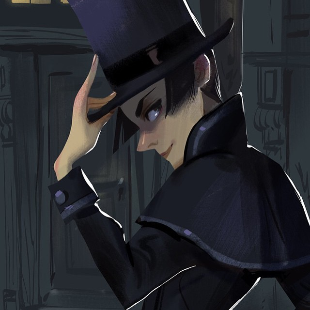 Little lady in a top hat #adsom