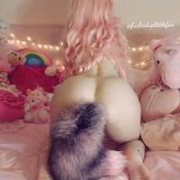 fuckeduplittlefox: A pink fox 🦊💖