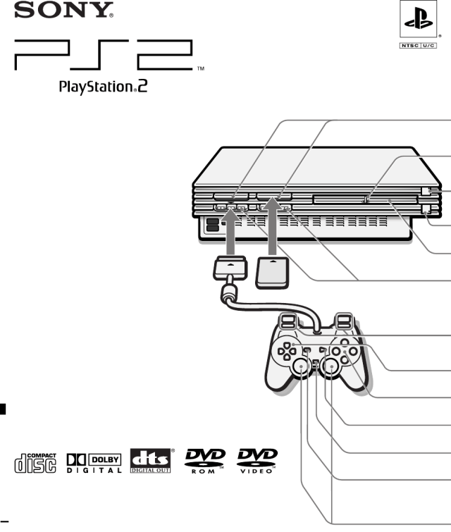 VGJUNK, PS2 manual illustration.