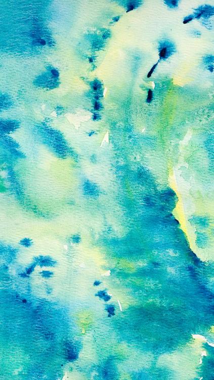 Girl Drawing Wallpaper For Iphone Watercolor Wallpapers Tumblr
