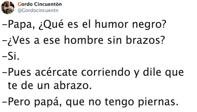 Humor paternal negro