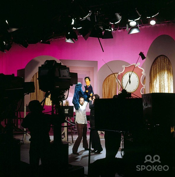 Astronoglow — Sesame Street Beat the Time sketch Behind the...