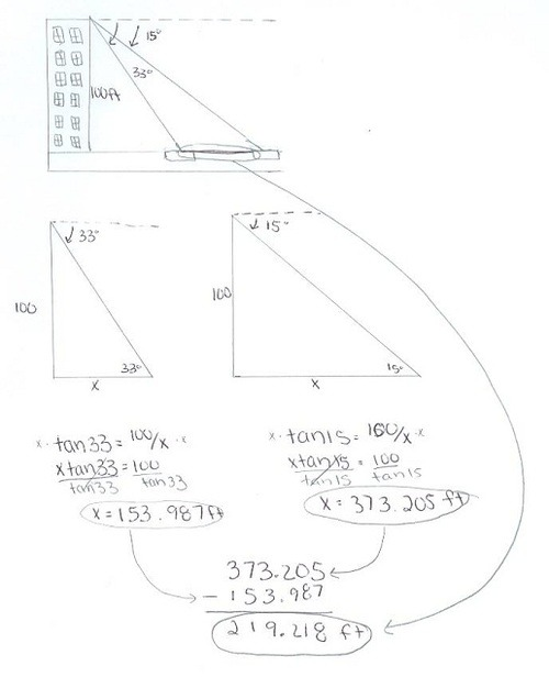4.8 Solving Word Problems w/ Trig