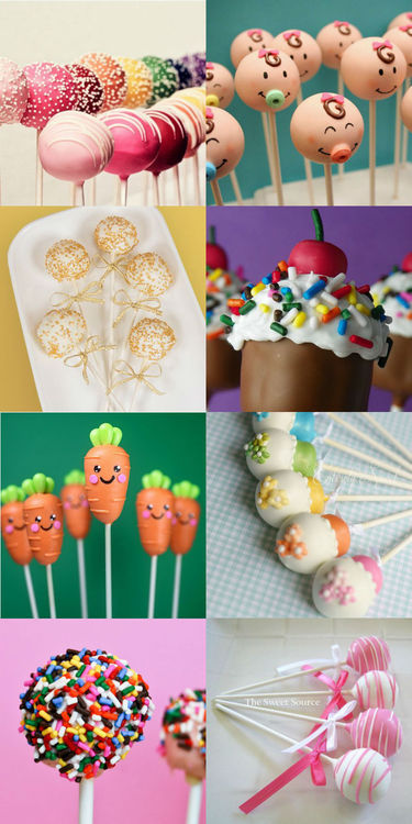 decoration de cakes pops