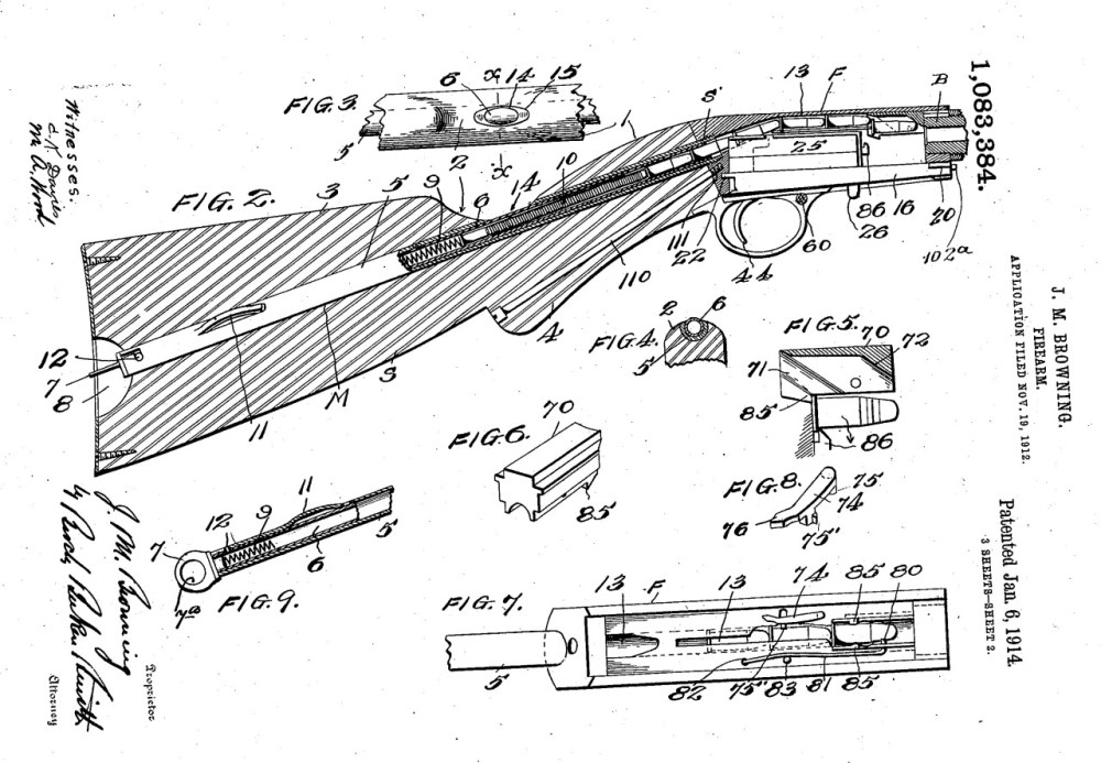 medium resolution of historical firearms inventors and their guns john browning s