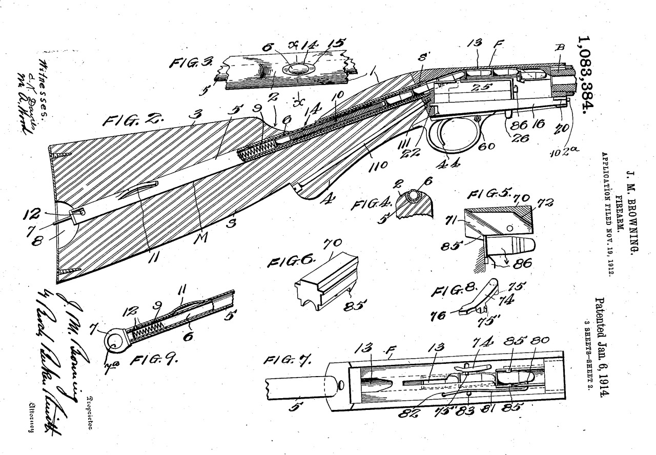 hight resolution of historical firearms inventors and their guns john browning s