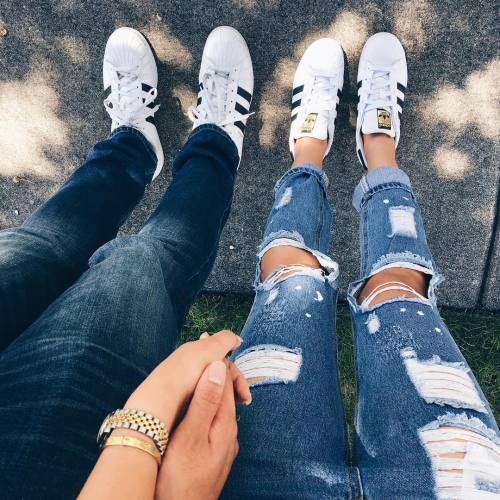 Adidas Couple Tumblr