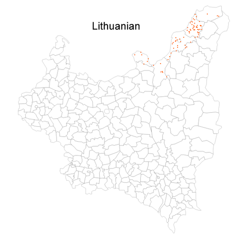 Languages of interwar Poland