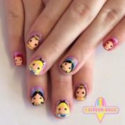 perfect disney princess nails