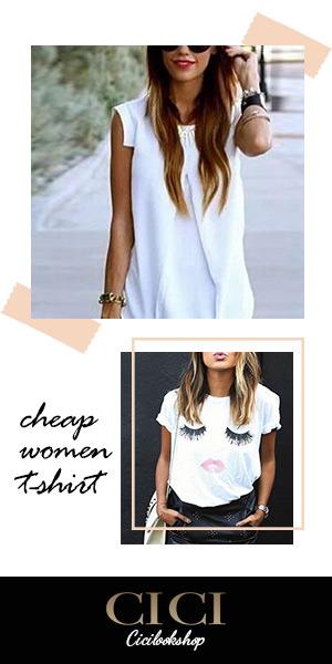 cicilookshop Cheap Women T-Shirt Online Sale