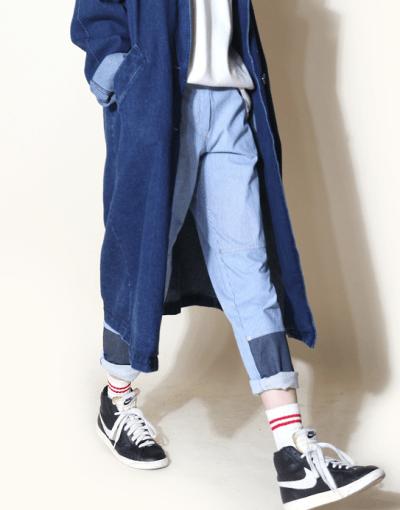 oversized denim jacket tumblr