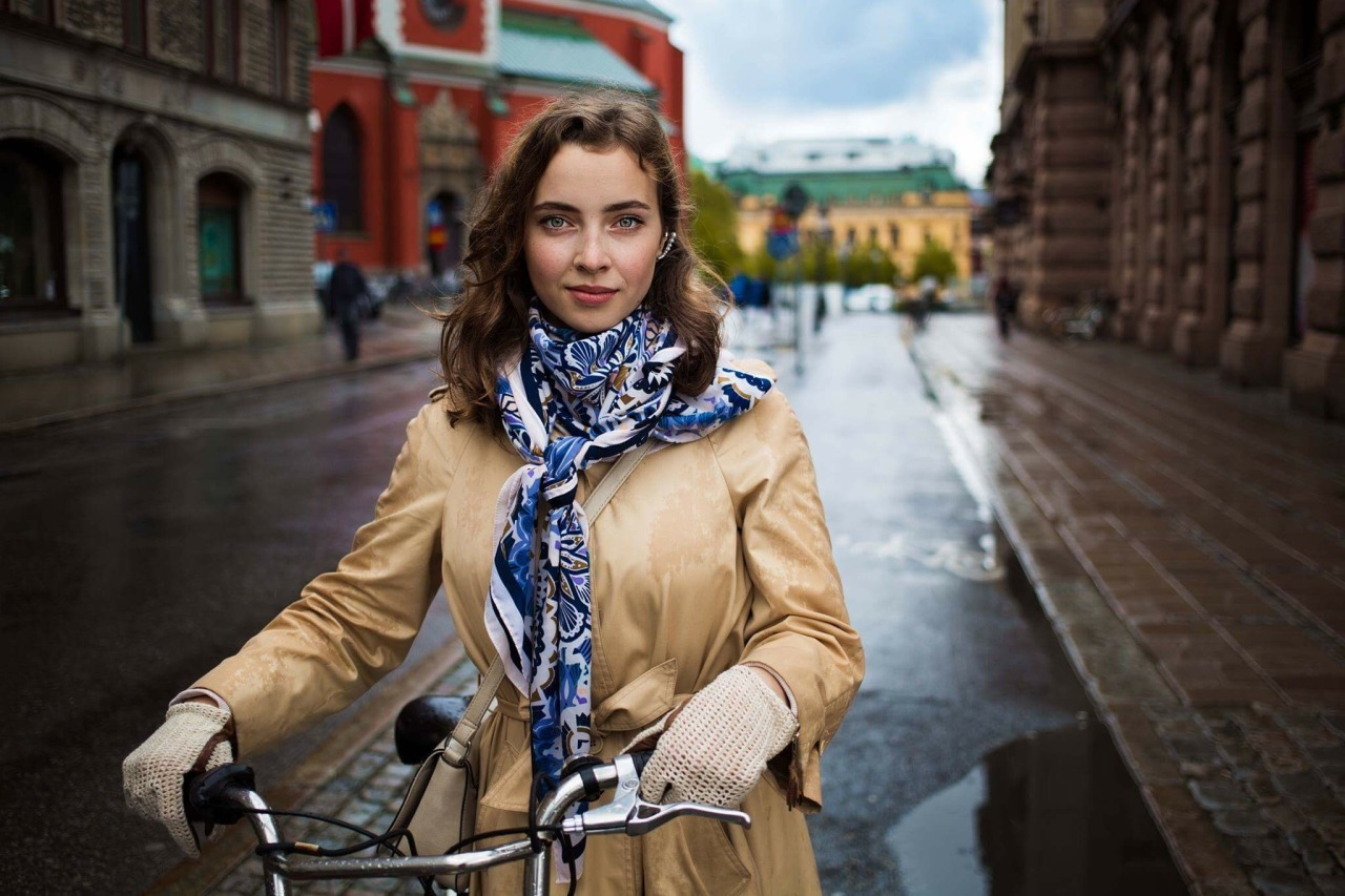 Even on the rainy days, most of the people of Stockholm, the capital of Sweden, prefer to walk or use a bicycle, rather than a car. Emilia stopped for a few minutes and told me about the happiest moment of her life. She was recently chosen for an...