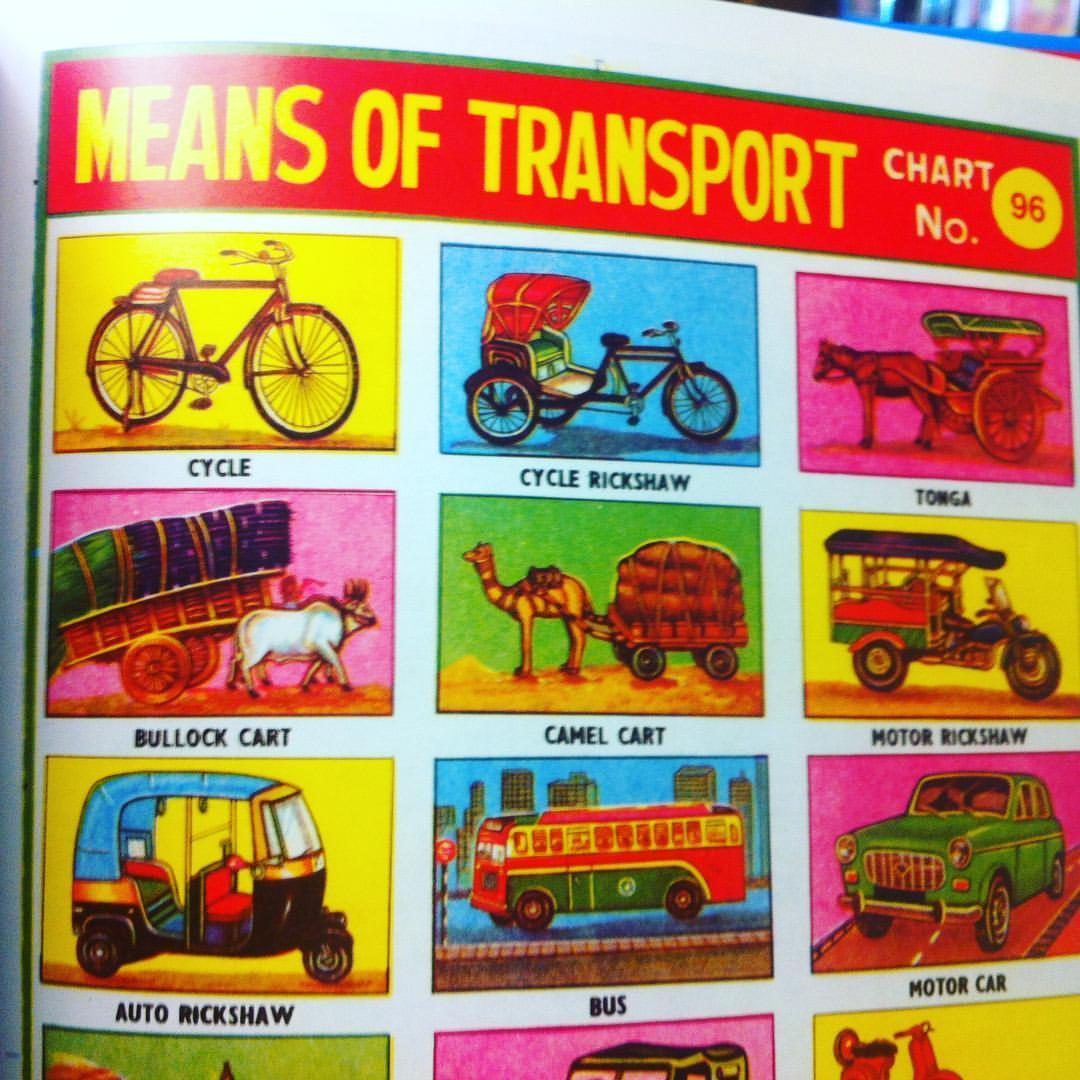Means Of Transport From An Ideal Boy Charts