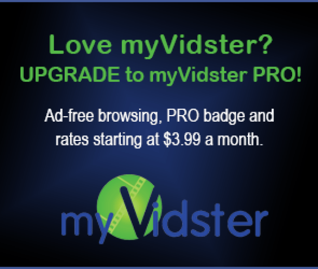 Upgrade To Myvidster Pro